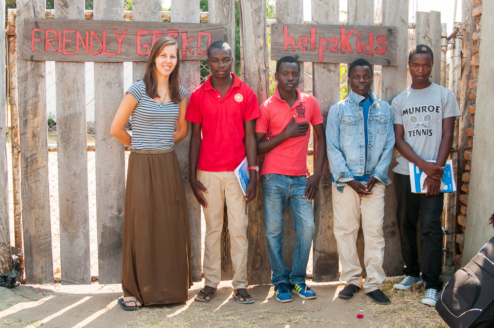 Sponsorship students and Lotte Malawi Opportunity Knocks
