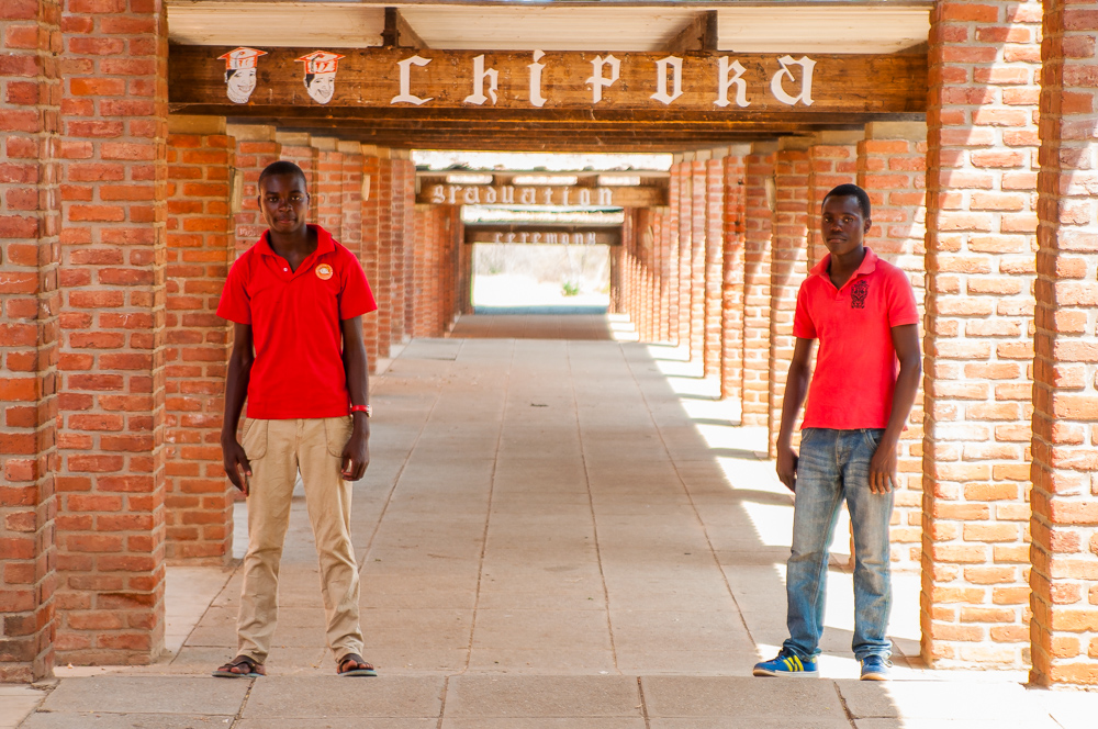 Godfrey and Isaac Chipoka Malawi Opportunity Knocks