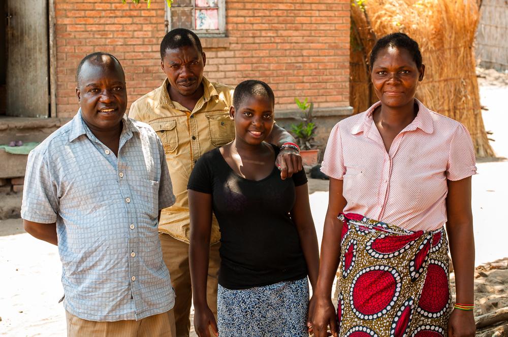 Zione sponsorship Malawi family Opportunity Knocks