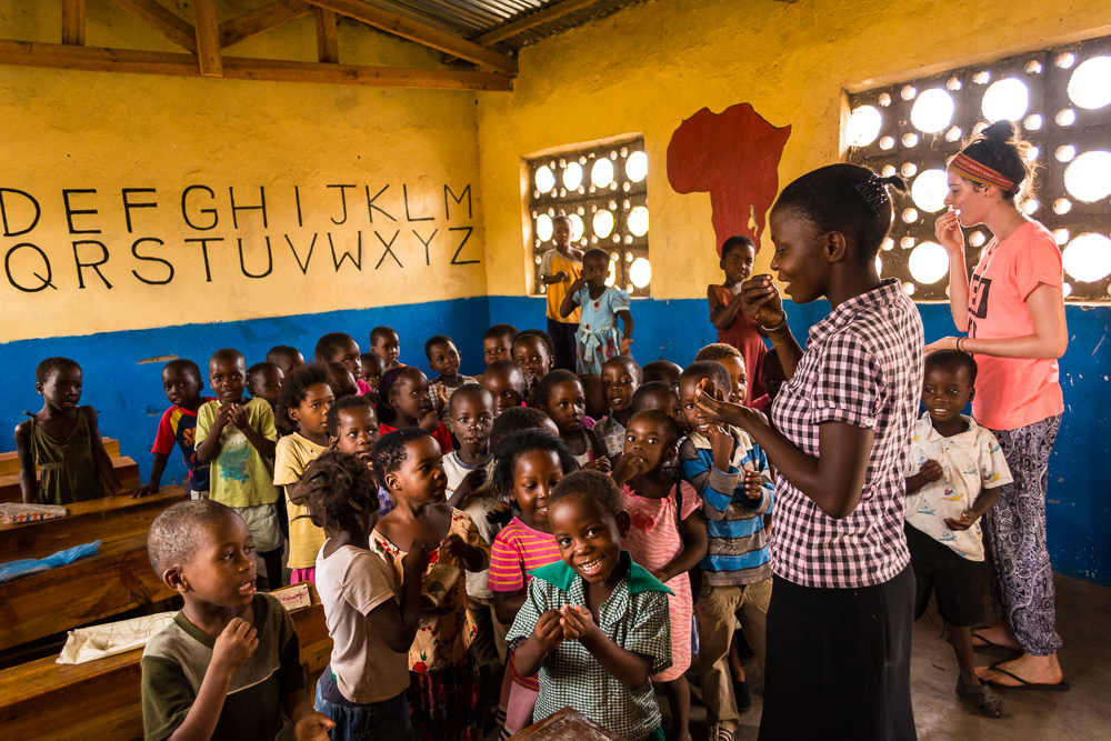 The School Offers A Nursery And Daycare Center To Over 200 Children Most Of Teachers Are Local Volunteers With Little Or No Formal Training In